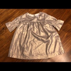 Beautiful Gymboree metallic gold dress size 18-24